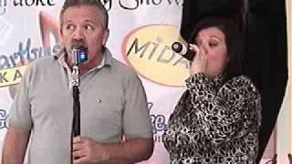The Karaoke King Show - Mike and Jena sing cruisin from the Movie Duets