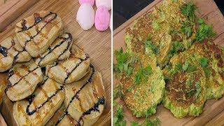 اقراص الموز بالشوفان - بان كيك البسلة - قالب كوسة بالجبنة | اميرة في المطبخ حلقة كاملة