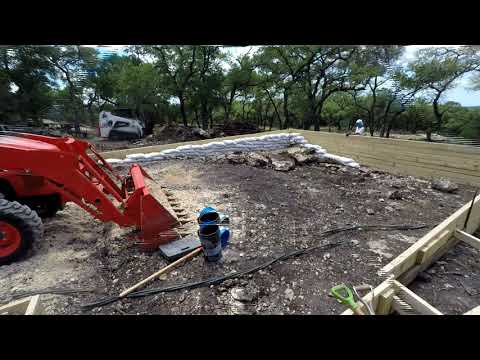 05082020 – Blueberry Hill Foundation for the container house starts