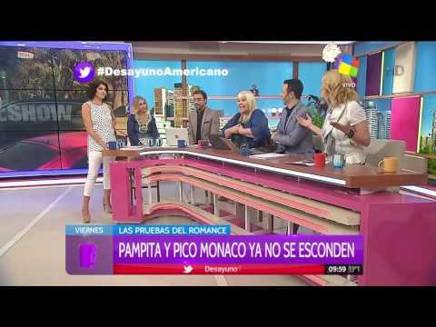 Pampita y Pico no ocultan el romance