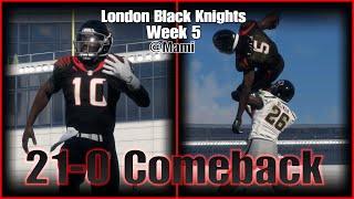London Black Knights Week 5 (Madden 18)