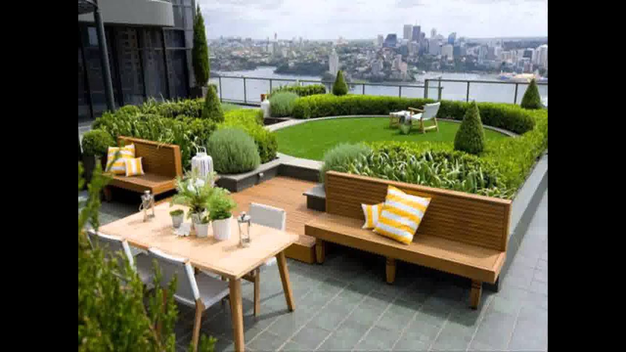 Small Space Terraced Garden Ideas YouTube