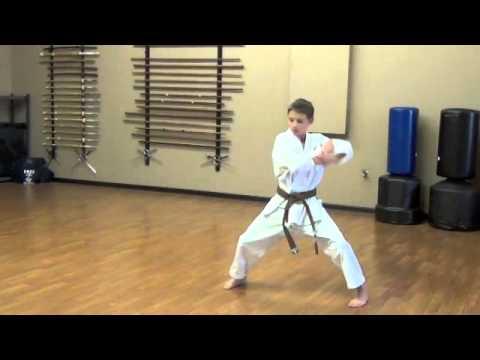 Lincoln Budokan, Tekki Shodan Kenkojuku Shotokan Karate