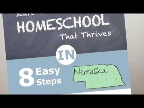 How to Homeschool in Nebraska and Nebraska Homeschool Laws