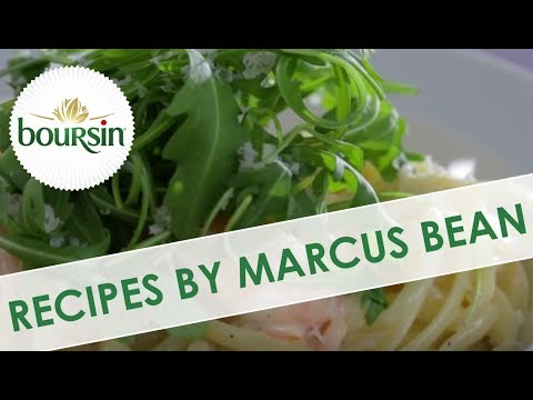 Smoked Salmon, Tiger Prawn Linguine & Boursin | Cheese Recipes By Marcus Bean