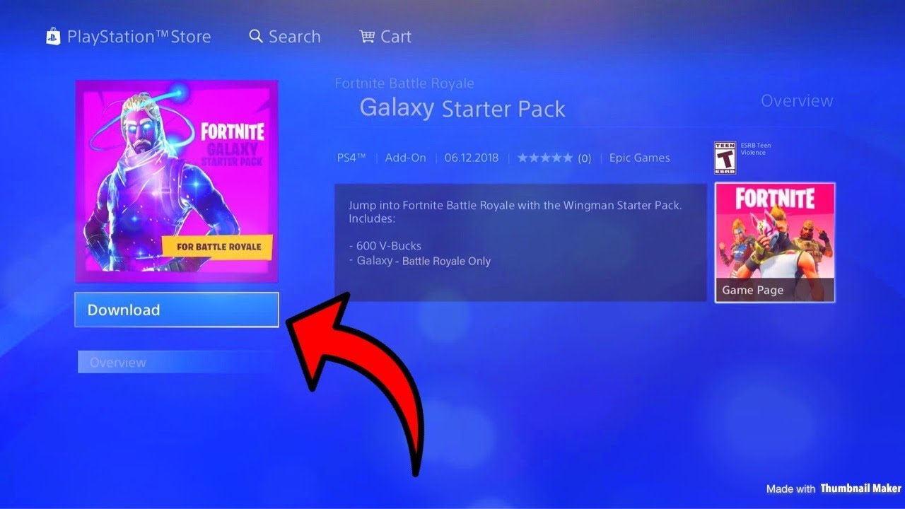 How To Download New Fortnite Galaxy Skin From Galaxy Note 9 To Ps4
