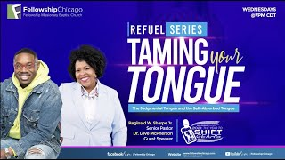"""""""The Judgmental and Self Absorbed Tongue"""" Pastor Reginald W Sharpe Jr. Wednesday June 16, 2021"""