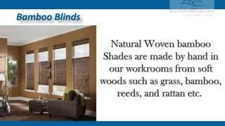 Bamboo Shades | Buy Home Blinds | Home Blinds Of America