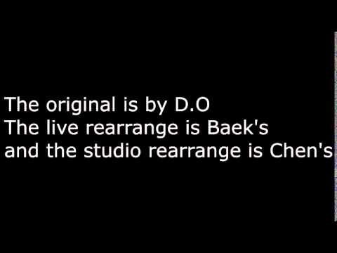 EXO's Black Pearl Vocal Run Comparison -  Baekhyun vs Chen vs D.O