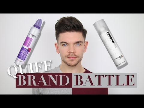 Big Quiff- L'Oreal vs. Toni & Guy | Brand Battle