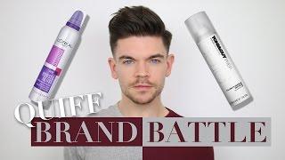 Big Quiff- L'Oreal vs. Toni & Guy   Brand Battle