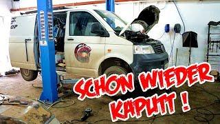 VW T5 Zylinderkopf/Krümmer TOTALSCHADEN !