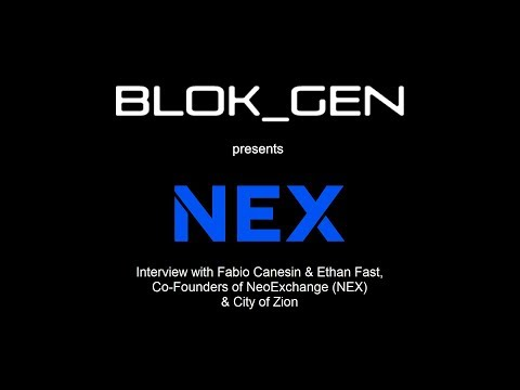 NEO DevCon Interview with NeonExchange (NEX) & City of Zion Co-Founders Fabio Canesin & Ethan Fast