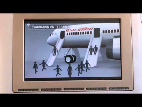 Air India 787 Dreamliner Safety Video