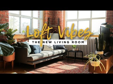 WE'RE RE-DOING OUR ENTIRE SPACE! | LOFT VIBES