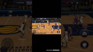 IS IT POSSIBLE TO SCORE SHOTS FROM THE 4 POINT LINE AS THE SACRAMENTO KINGS!!! (NBA LIVE Mobile)