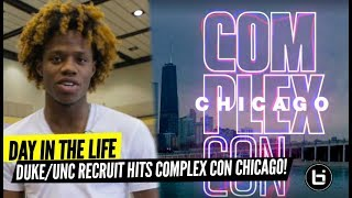 Day in the Life w/ Duke Commit DJ Steward! Chicago's top HS player takes COMPLEXCON for BALLISLIFE!