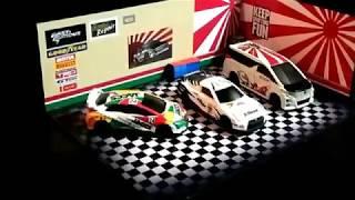 Papercraft Diorama Garasi JDM Maket Diecast Hotwheels Tomica Dll