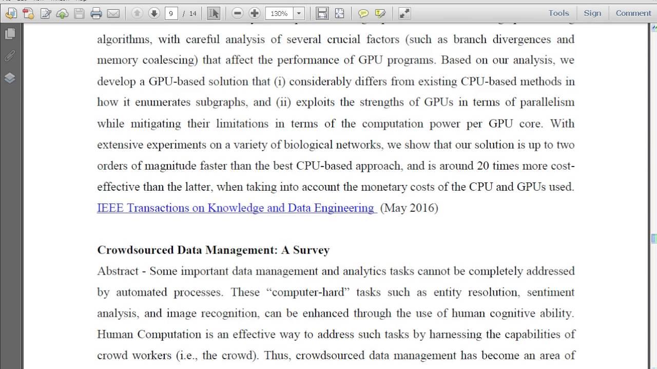 data mining ieee format