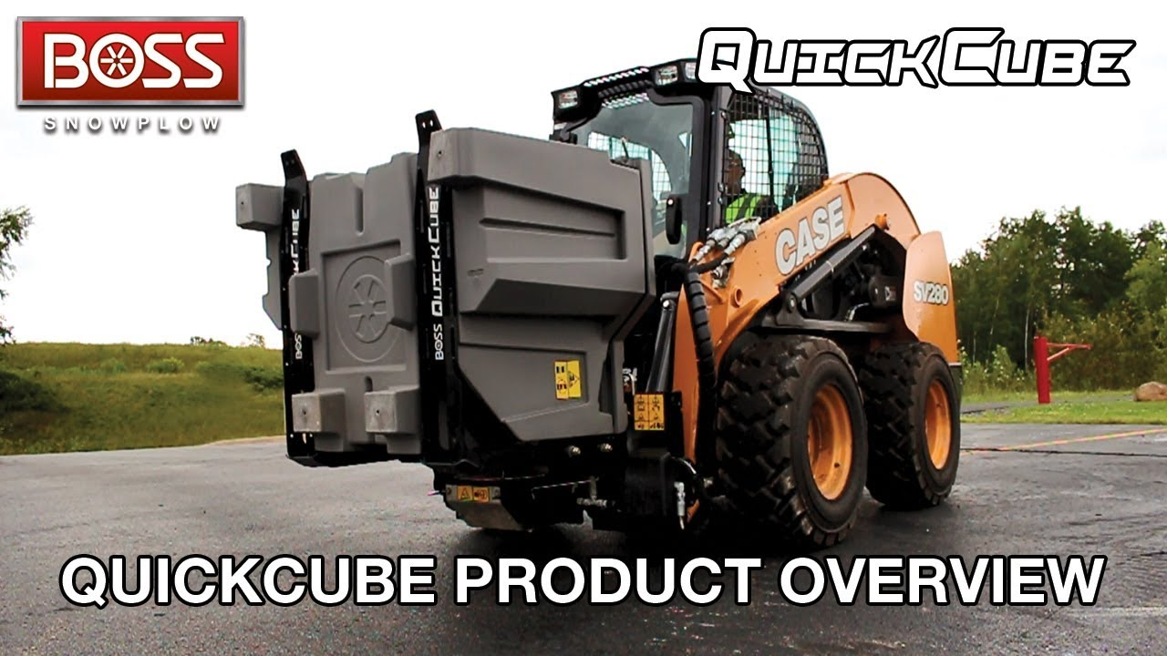 quickcube product overview boss snowplow  [ 1280 x 720 Pixel ]