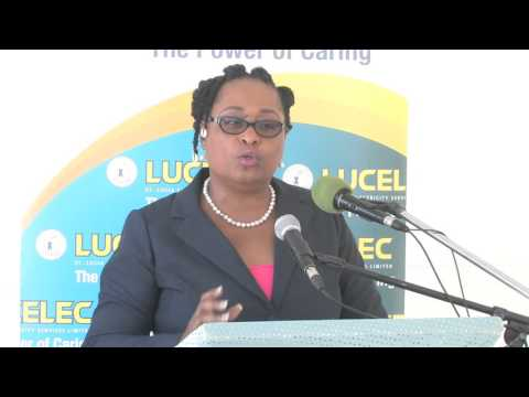 LUCELEC Handover of School Feeding Programme at the Vieux-Fort Primary School