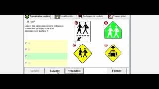 Testez vos connaissances en Signalisation routière Examen théorique la saaq teste 60/80