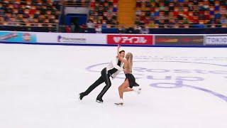 Произвольный танец Танцы на льду Rostelecom Cup Гран при по фигурному катанию 2020 21