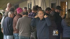 Big Crowds Line Up To Bid Farewell To Closing Restaurant In San Jose