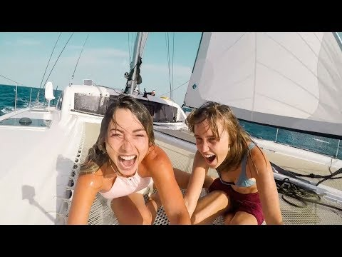 We got Drenched, Sailing to Northern Africa! (Sailing La Vagabonde) Ep. 124