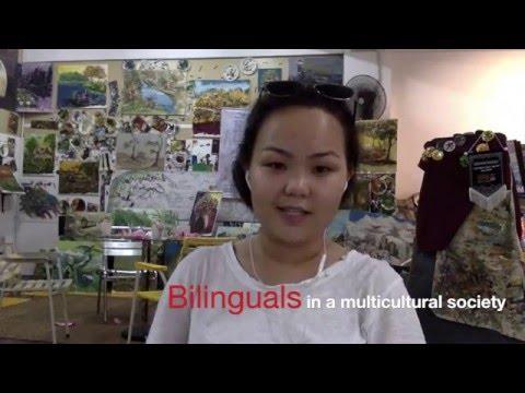 Sociolinguistics: Bilinguals in a multicultural society