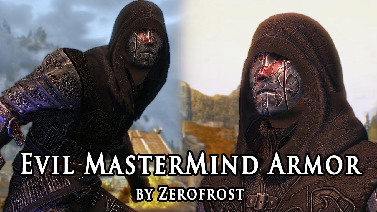 Evil MasterMind Armor at Skyrim Nexus - mods and community