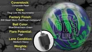 bowlingball.com DV8 Thug Life Bowling Ball Reaction Video Review