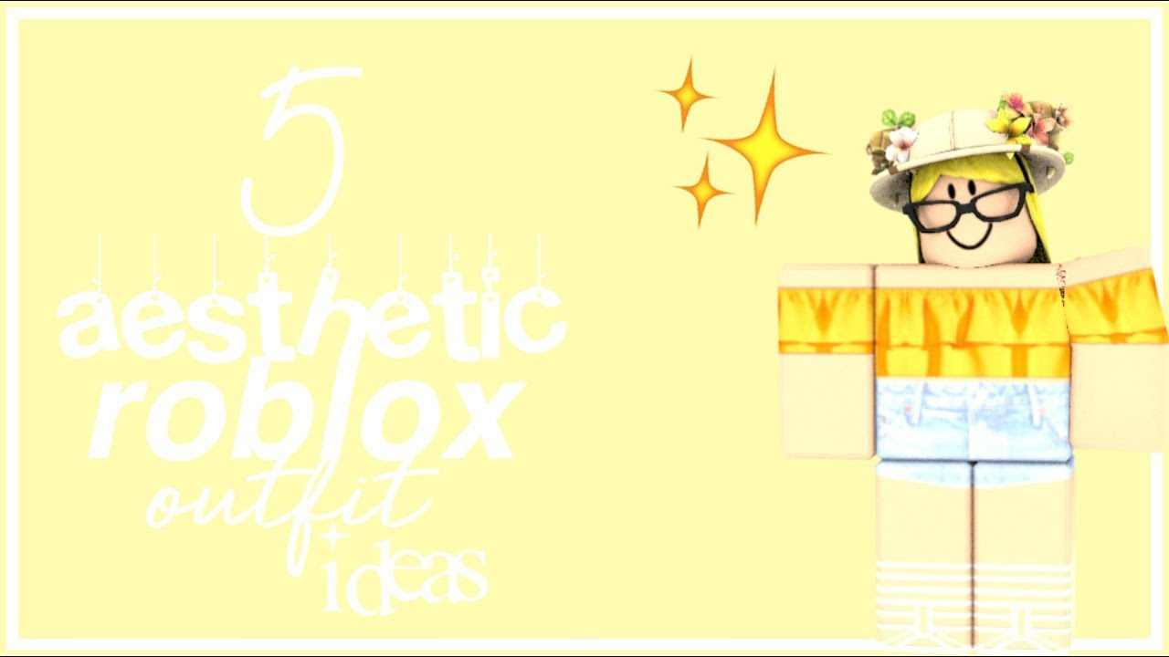 5 Aesthetic Roblox Outfits Girls Youtube