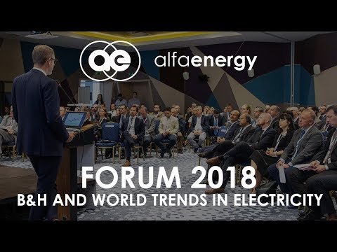 Alfa Energy Group - Business Electricity Forum 2018, Sarajev