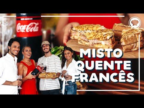 MISTO QUENTE FRANCÊS  DEB COZINHA  Go Deb