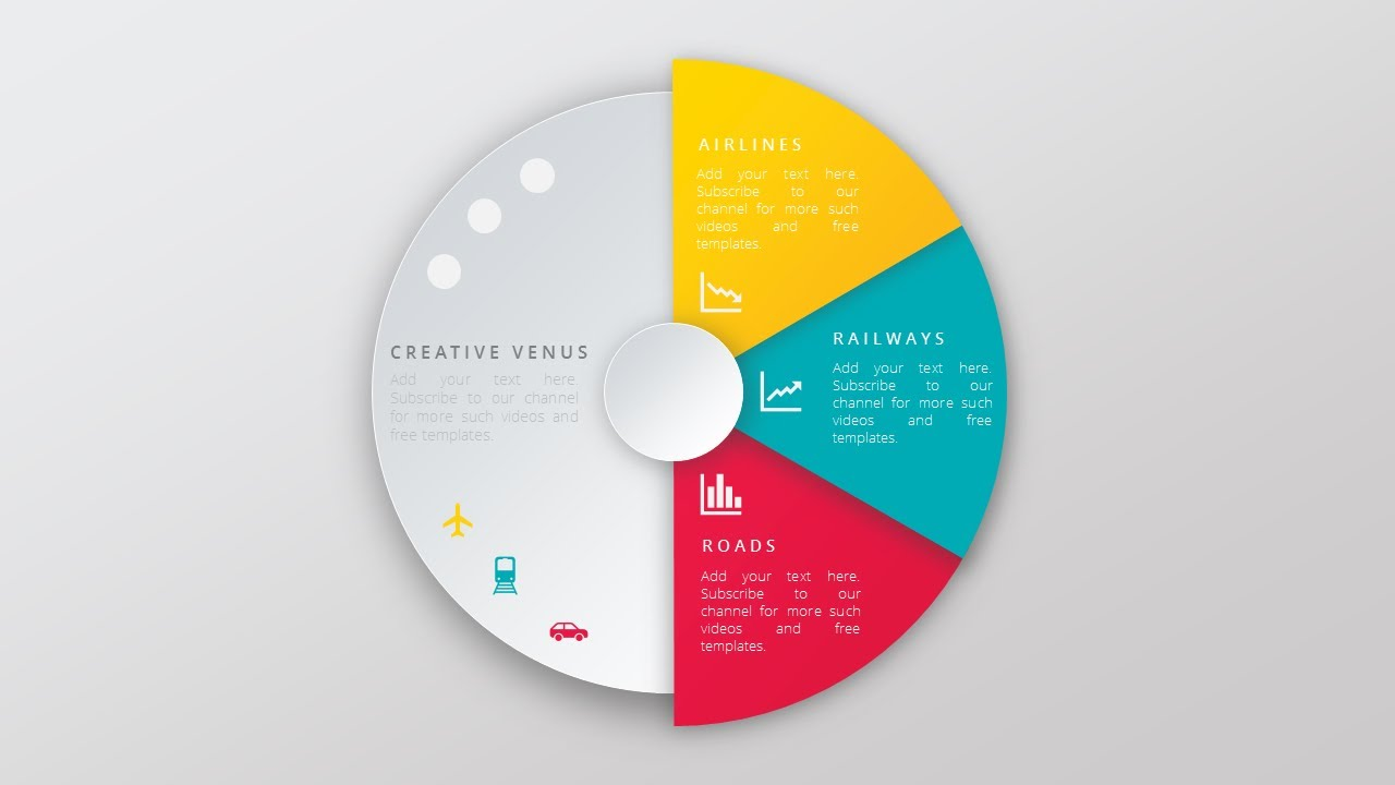 create super impressive vector like pie chart in microsoft office