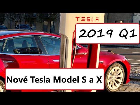 #65 Tesla 2019 Q1 výsledky a Nové Tesla Model S a X Raven | Teslacek