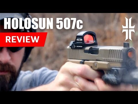 Review Of Holosun 507c Pistol Red Dot Sight