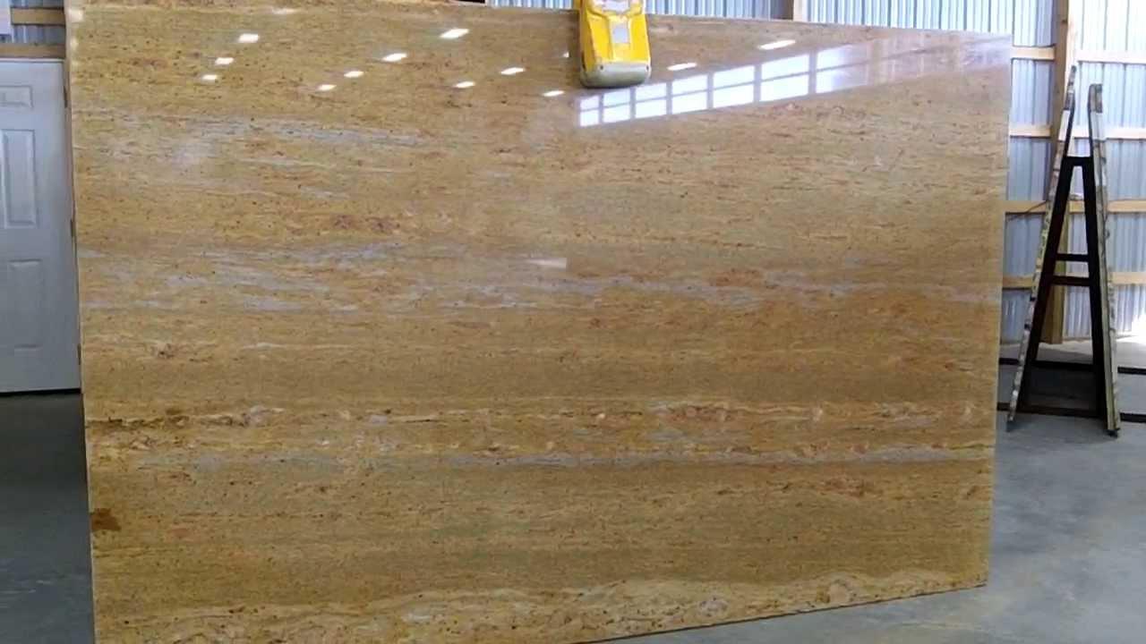 Kashmir Gold Granite Countertops  Stone Masters Inc.   610 444 7200    YouTube