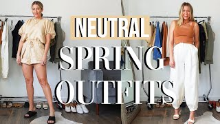 HOW TO STYLE CUTE NEUTRAL OUTFITS | Spring 2021