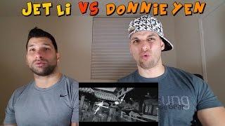 Jet Li vs Donnie Yen - HERO [REACTION]
