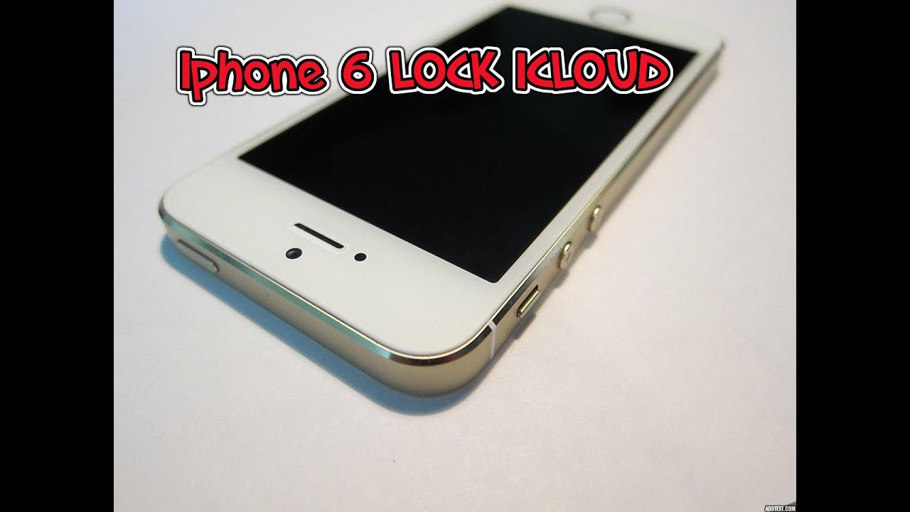 how to break icloud lock iphone 6