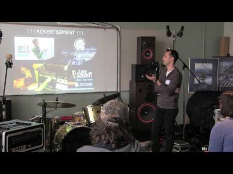 Start Your Career As An Audio Engineer - Professional Guest Lecture by Adam Lansky