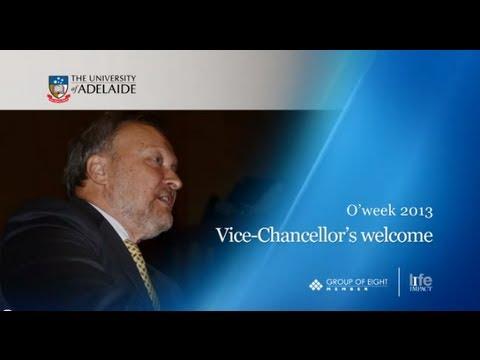 VC welcome Oweek 2013
