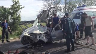 Авария около г. Пущино 14.07.12 \ Car crash