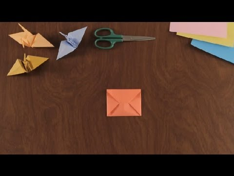 How to Make an Origami Envelope : Simple & Fun Origami ... - photo#16