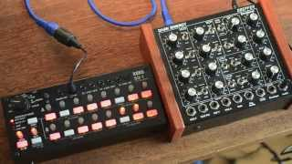 Korg SQ-1 + doepfer DarkEnergy