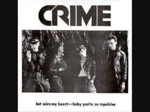 crime - hot wire my heart 7""