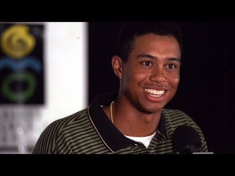 Tiger Woods; 1996 'Hello World' press conference