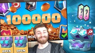 DOUBLE DRAFT CHEST CHALLENGE & NEW 100k GOLD OFFER! | Clash Royale | BIG DRAFT CHEST OPENING!!
